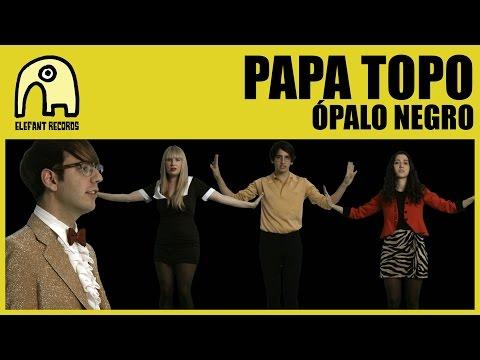 Letra Ópalo negro Papa Topo