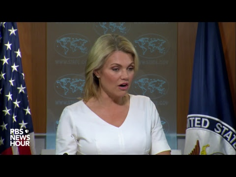 WATCH LIVE: State Department to hold news briefing after new North Korea sanctions issued