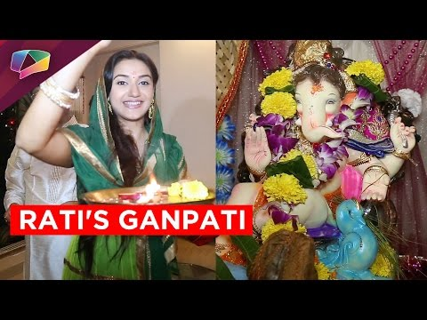 More about Rati Pandey's Ganpati celebration