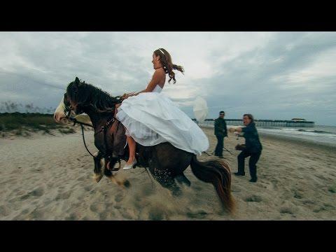 A lovas esküvői fotózás nem való mindenkinek