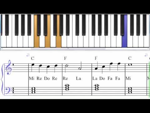 Игра На Пианино На Клавиатуре