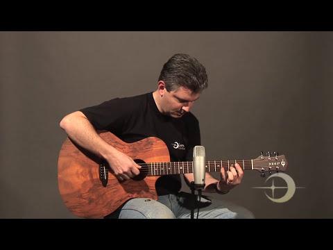 Luna Guitars Gypsy Spalt