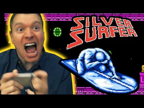 silver surfer nes game