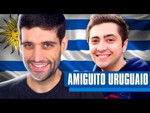Fiz um AMIGUITO uruguaio, Alan jogando com GRINGO e mandando um espanhol FINO do FINO (видео)