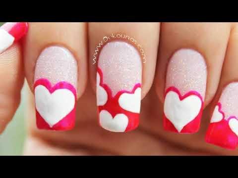 Decoracion De Uñas Acrilicas Para San Valentin