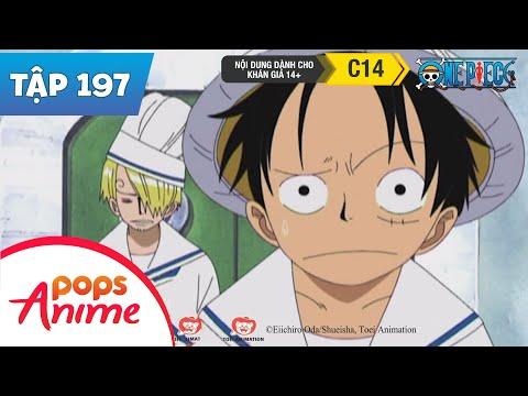 One Piece Tập 197 - Nam Đầu Bếp Sanji - Giá Trị Thật Sự - Phim Hoạt Hình - Thời lượng: 23:20.