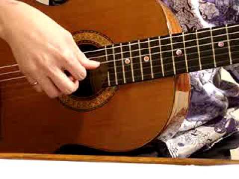 Bóng Hoàng Hôn, Từ Công Phụng, inspiré par Trần Thái Hòa. Guitar