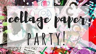 Collage Paper Party