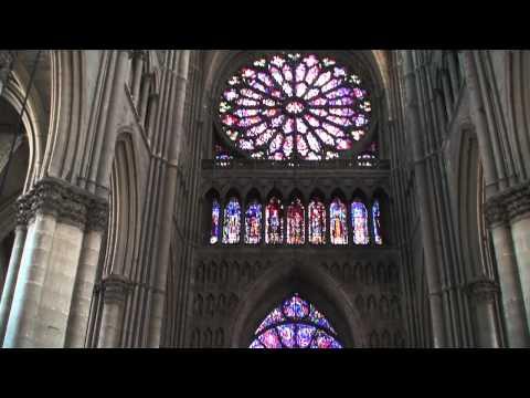 Inside Reims Cathedral (Cathédrale Notre-Dame de Reims), Reims, Champagne-Ardenne, NE France