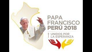 Encuentro del Papa con las Religiosas y con los Obispos- Lima Perú