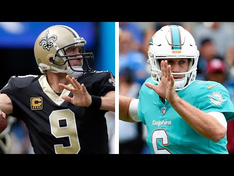 Video: NFL Week 4 Preview I Saints vs. Dolphins (from London)