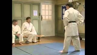 mr.bean en karate