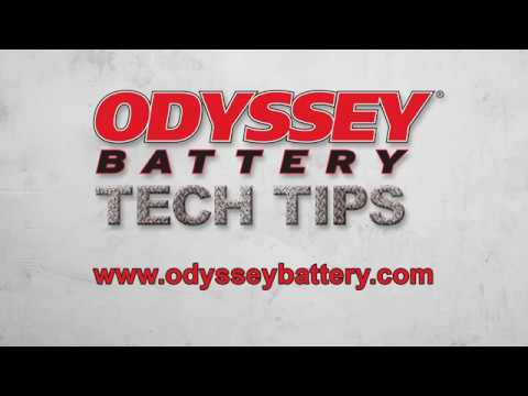 How to Inspect an ODYSSEY® battery