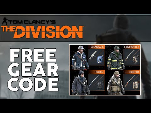 Tom Clancy's The Division Agent Origins Free Gear Sets! Agent Origins Gear Code!