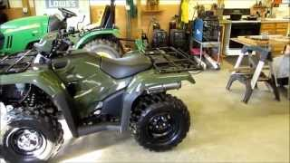 6. 2014 Honda Foreman 4x4 TRX 500 FM 1 Bought From Honda- Suzuki Of Lynchburg Virginia   By KVUSMC