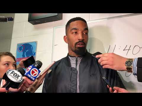JR Smith said 'I love it' when Celtics fans swore at him in unison
