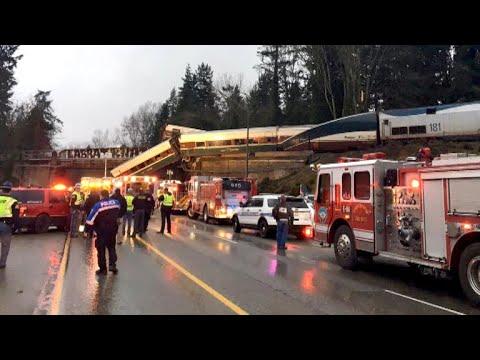 Passenger on Amtrak derailment: