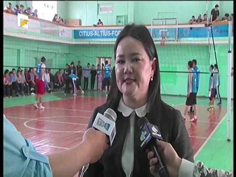Өмнөговь аймагт насанд хүрэгчдийн волейболын тэмцээн боллоо