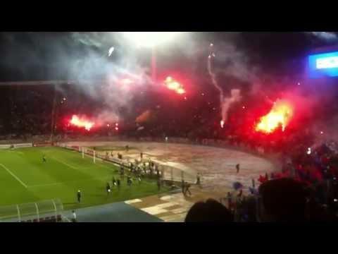 Video - LA MEJOR SALIDA!!   U.de Chile vs Arsenal de Sarandí Copa Sudamericana 2011 - Los de Abajo - Universidad de Chile - La U - Chile