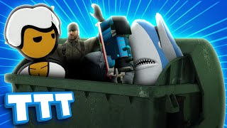 We See How Many People We Can Fit in a Bin in Gmod TTT