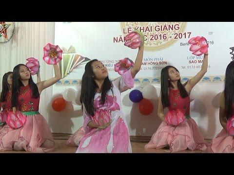 Trường tiếng Việt Sao Mai Berlin kỷ niệm 10 năm và khai giảng năm học mới