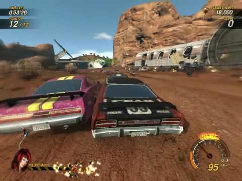 FlatOut: Ultimate Carnage, видеообзор от журнала «Лучшие Компьютерные Игры» (ЛКИ)