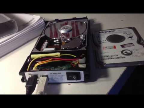 R.I.P. Maxter hard drive
