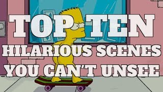Top 10 Hilarious Movie Scenes You Can't Unsee (Quickie)