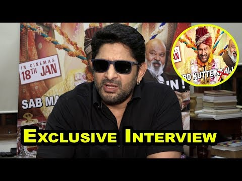 Interview With Arshad Warsi for film 'Fraud Saiyaan'