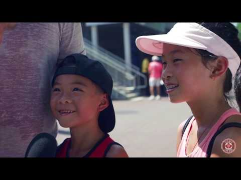Join Tom Tebbutt as he once again takes to the grounds at the US Open to chat with families and ask parents whether they'd like to see their kids playing tennis ...