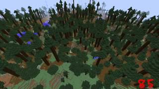 Minecraft World Generator Seed = 85
