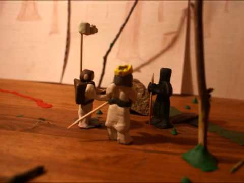 Black Knight Claymation (видео)