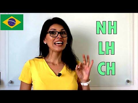Português| PRONÚNCIA LH - NH - CH - Dígrafos