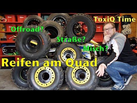Reifen am Quad / Offroad Strasse Mischbereifung - ToxiQtime