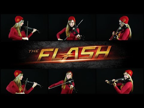The Flash: Main Theme Cover by anastasia Soina Violin