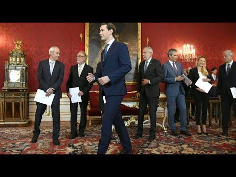 Österreich: Van der Bellen vereidigt neue Minister - Kurz regiert mit Interimskabinett weiter