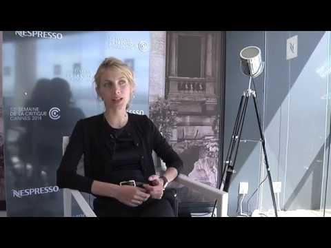 Melanie Laurent - Interview de Mélanie Laurent, réalisatrice de RESPIRE, long métrage présenté en séance spéciale lors de la 53e Semaine de la Critique. - Interview of Mélanie...