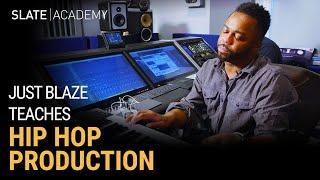 Learn Hip-Hop Production w/ Legendary Producer Just Blaze 🔥