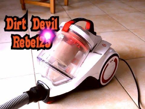 Aspirateur puissant et pas cher - Dirt Devil Rebel25 (défaut : conception  brosse)