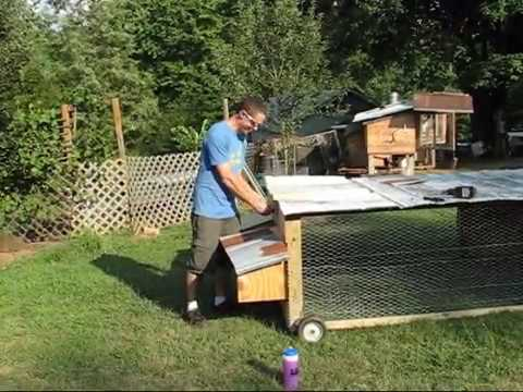 DIY How to Build the BEST Chicken Tractor