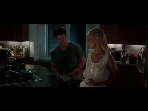 Nick Jonas Lifts His Shirt for Isabel Lucas in 'Careful What You Wish For' Clip