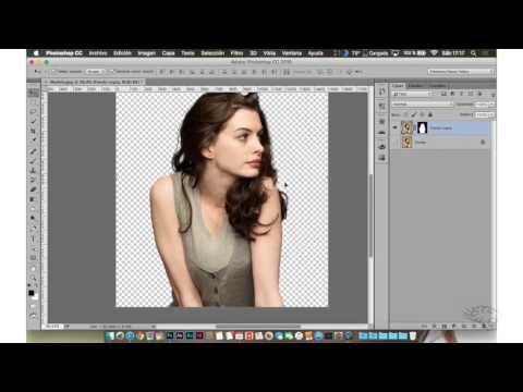 Tutorial Recorta A Una Persona Con Adobe Photoshop CC 2015