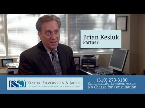Meet California Employment Attorney Brian Kesluk- 35+ Years' Experience
