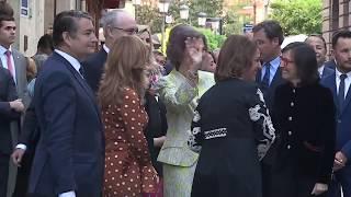 S.M. la Reina Doña Sofía inaugura el V Ciclo de Cámara en las Ciudades Patrimonio