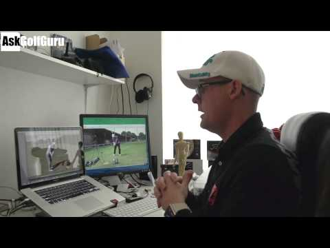 Golf Grip and Over The Top Swing Lesson