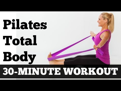 Pilates Workout 30 Minutes Full Body Sculpting Exercise Video for All Levels