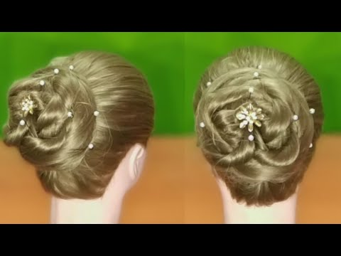 Hairstyles for long hair - New Bun Hairstyle for Long Hair and Medium Hair  Summer Hairstyles for Girls  Hairstyles