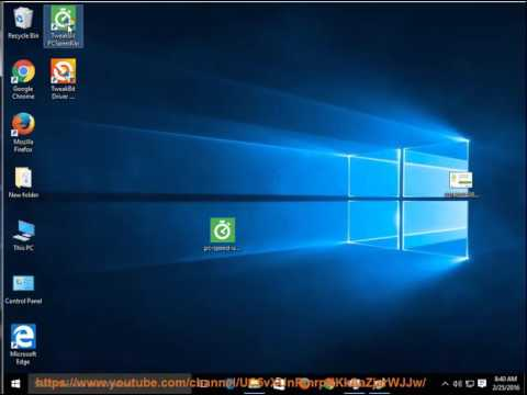 Uninstall TweakBit PCSpeedUp 2015 on Windows 10
