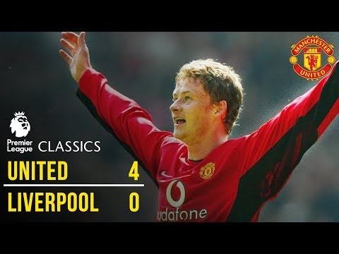 Manchester United 4-0 Liverpool (02/03) | Premier League Classics | Manchester United