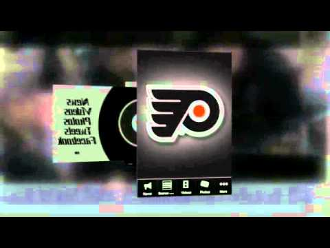 Video of Philadelphia Flyers Fan App